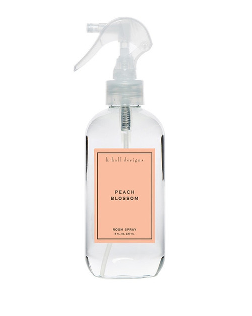 K. Hall Designs Peach Blossom Room Spray
