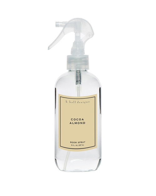 K. Hall Designs Cocoa Almond Room Spray