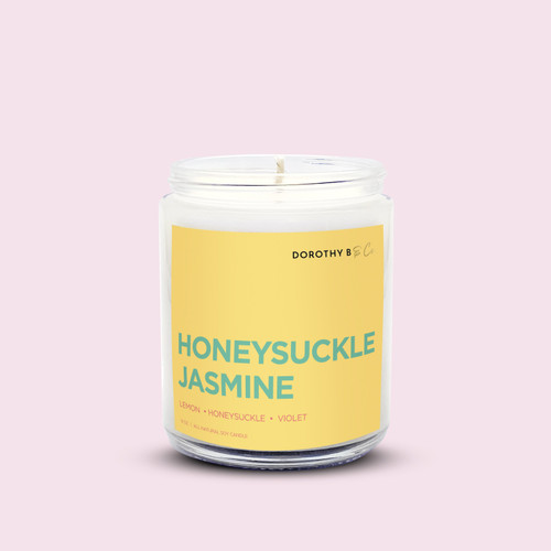 Dorothy B & Co Signature Honeysuckle Jasmine Candle