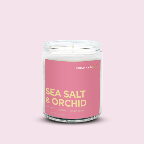 Dorothy B & Co Signature Sea Salt & Orchid Candle