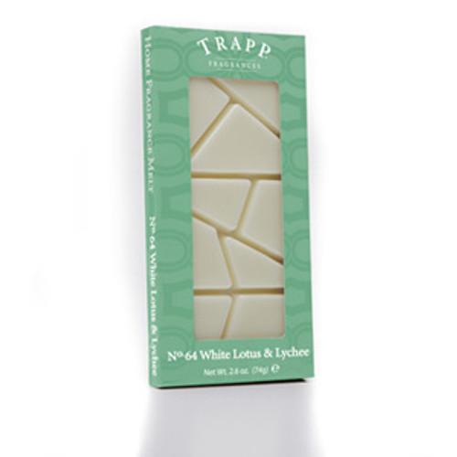 No. 64 Trapp White Lotus & Lychee - 2.6 oz. Home Fragrance Melts