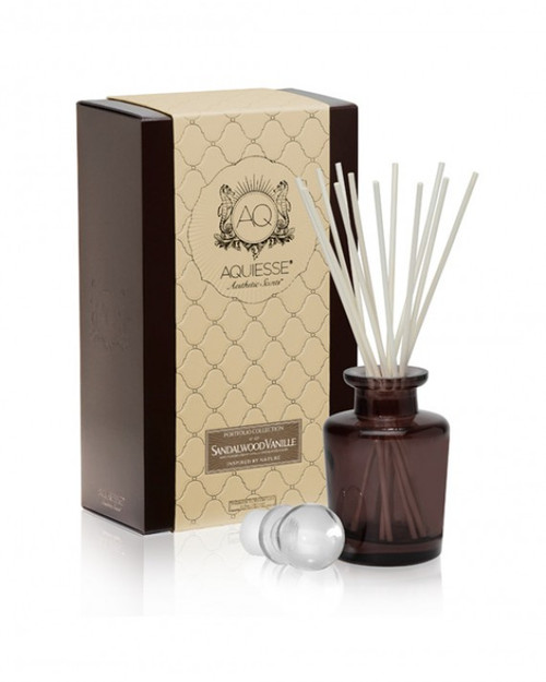 Aquiesse Portfolio Collection Sandalwood Vanille Reed Diffuser