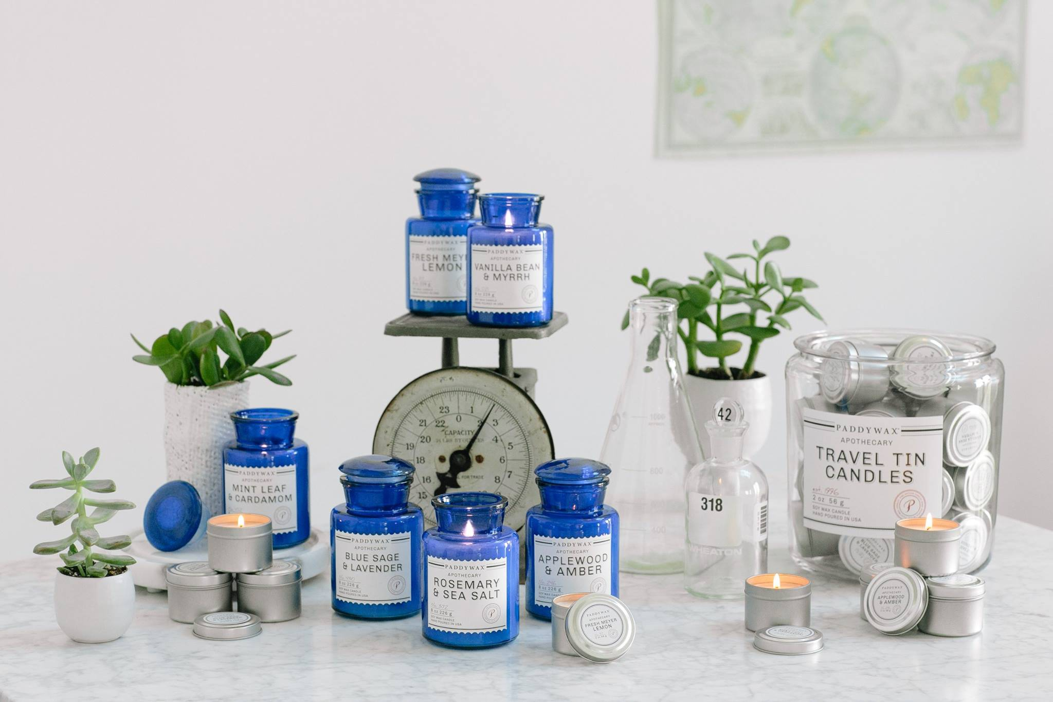 Blue Apothecary Collection