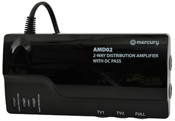 4G READY VHF/UHF DISTRIBUTION AMPLIFIERS WITH DC PASS [130.033UK]