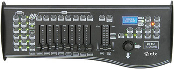 DM-X12 192 CHANNEL DMX CONTROLLER WITH JOYSTICK [154.092UK]