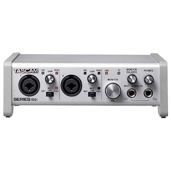 Tascam 102i 10 IN/2 OUT USB Audio/MIDI Interface SERIES 102i