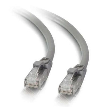 10m Cat5e Booted Unshielded UTP Network Patch Cable - Grey 83147