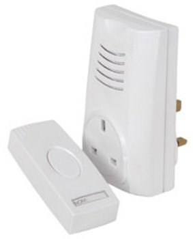 PLUG THROUGH WIRELESS DOOR CHIME [350.300UK]