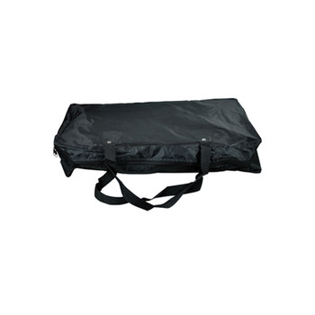 High Quality Black Fabric Sheet Music Stand Carry Bag With 2 Strap Handles and Zipper