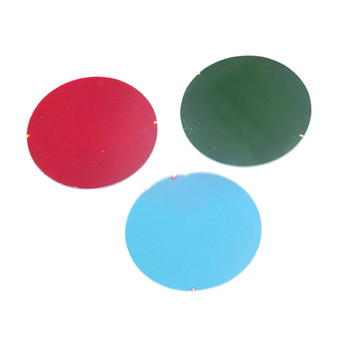 Red 50 mm Dichroic Filter for Par 16 Cans and Low Voltage Downlighters