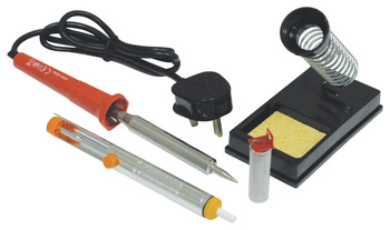 High Quality Mains Powered Soldering Iron Kit