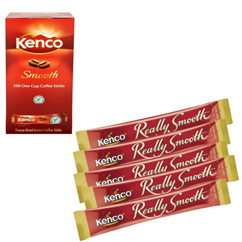 Kenco Smooth Instant Coffee Sticks 1.8g 65687 Pack of 200