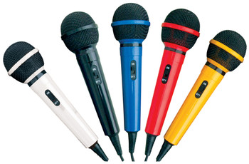 Mr Entertainer Microphone Kit with 5 Colours of Microphones [G156KIT]