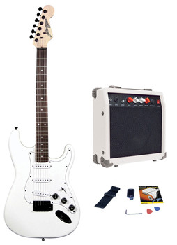 Johnny Brook Standard Guitar Kit with 20W Colour Coded Combo Amplifier [JB402]