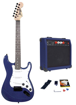 Johnny Brook Standard Guitar Kit with 20W Colour Coded Combo Amplifier [JB405]