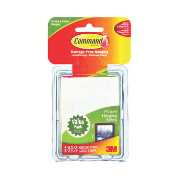 3M Command Picture Hanging Value Pack 24