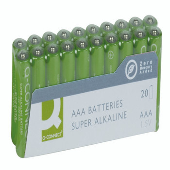 Q-Connect AAA Battery Economy Pk20