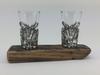 Twin Pewter Shot Glass Set | WSS02