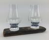Twin Whisky Glass Base Set | WS02