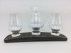 Triple Whisky Glass Base Set | WS03