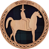 Wellington Round Coaster   LCR03