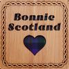 Bonnie Scotland Square Coaster   LCR20