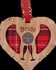 Bridal Heart Lucky Sixpence