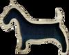 Scottie Dog Brooch | LB09