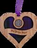Ma Braw Maw - Heart Lucky Sixpence   LS41