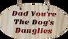 Dogs Danglies Hanging Plaque | LH17