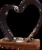 Medium Heart Tea-Light Holder | BH02