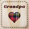 Grandpa Square Coaster | LCR28