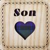 Son Square Coaster | LCR30