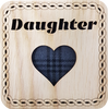 Daughter Square Coaster | LCR31