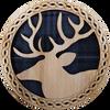 Stag Round Coaster | LCR40