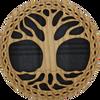 Tree of Life Round Coaster | LCR44