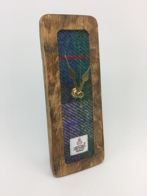 Small Tweed Mantle Clock   C02