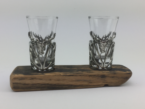 Twin Pewter Shot Glass Set | WSS02