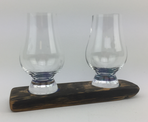 Twin Whisky Glass Base Set | WS02