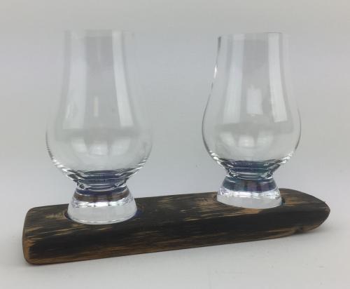 Twin Whisky Glass Base Set   WS02