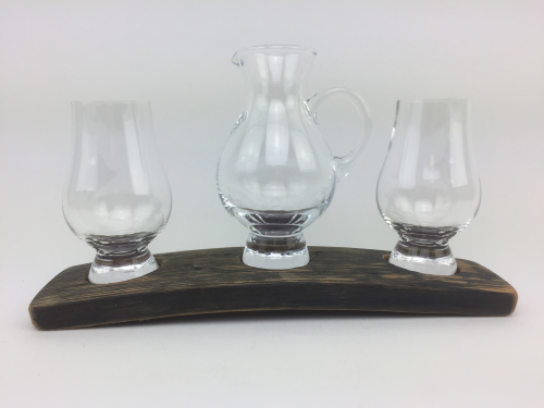 Triple Whisky Glass Base Set | WS03