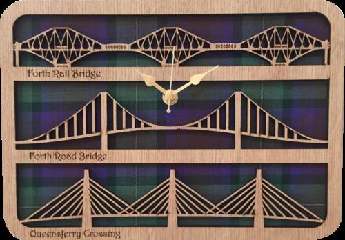 Forth Bridges Clock | LC07