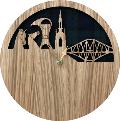 Scotland Skyline Clock | LC01