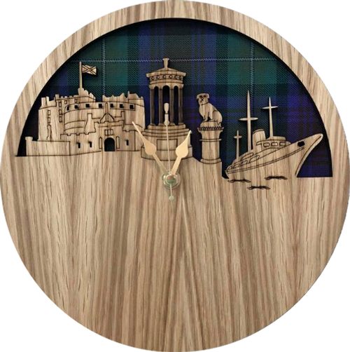 Edinburgh Skyline Clock | LC02