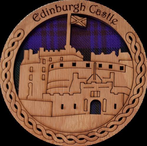 Edinburgh Castle Round Coaster | LCR01