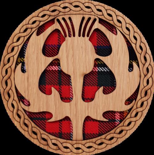 Thistle Round Coaster | LCR04