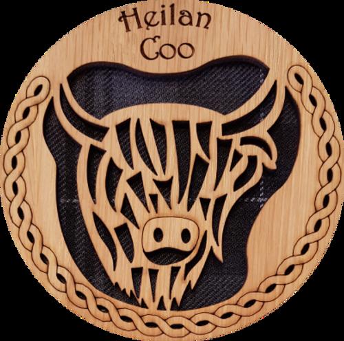 Heilan Coo Round Coaster | LCR06