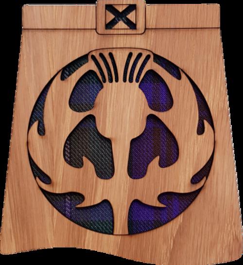 Thistle Kilt Coaster | LCR09