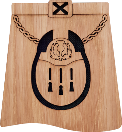 Sporran Kilt Coaster | LCR10