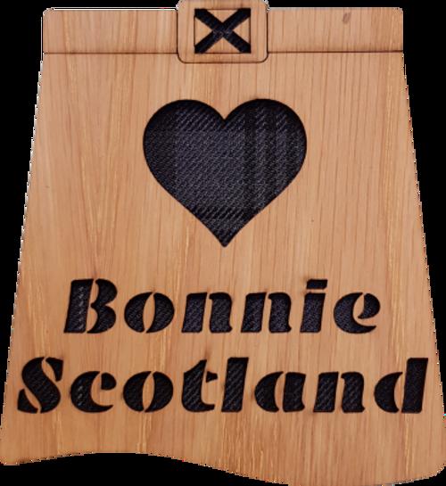 Bonnie Scotland Kilt Coaster | LCR13
